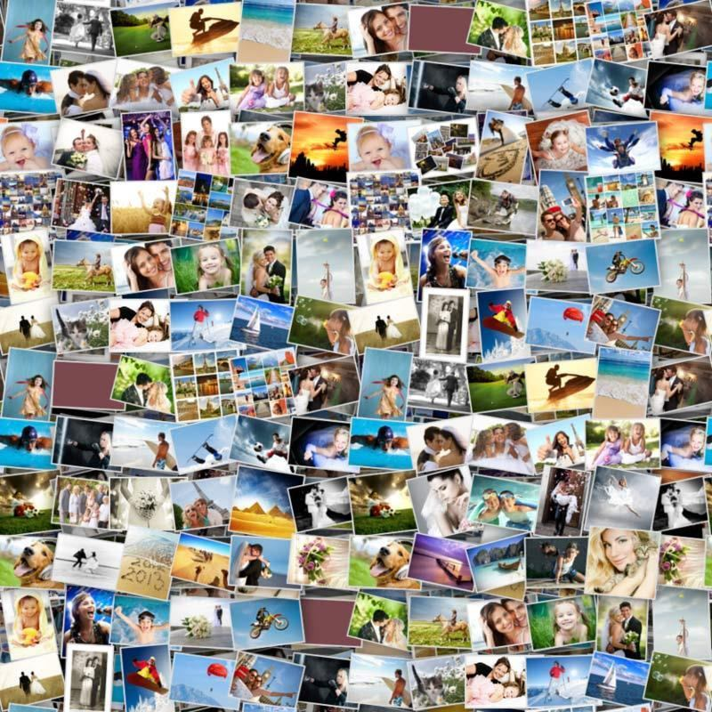Photo collage poster templates free